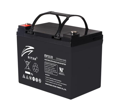 12 Volt 33Ah Sealed Lead Acid Battery