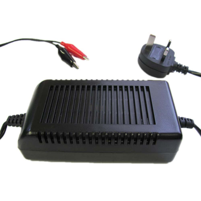 12V 2 AMP Lead Acid Battery Charger from the Batteryworldshop.com