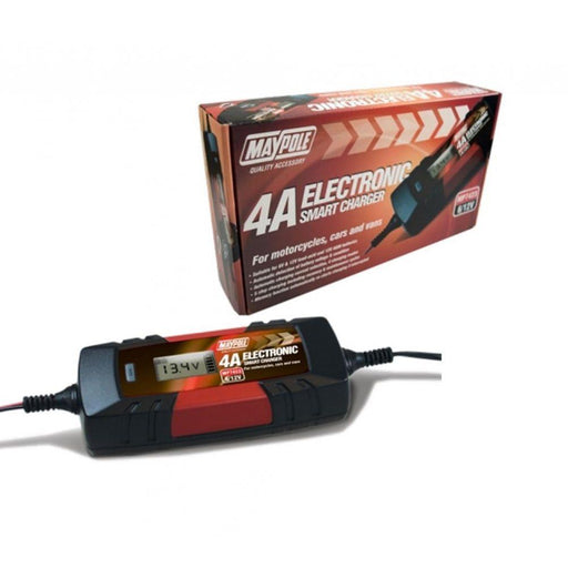 12 Volt 4 Amp Battery Charger from the Batteryworldshop.com