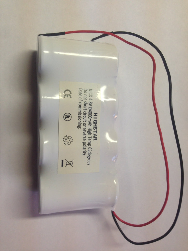 NICD 4.8V Emergency Lighting D from the Batteryworldshop.com