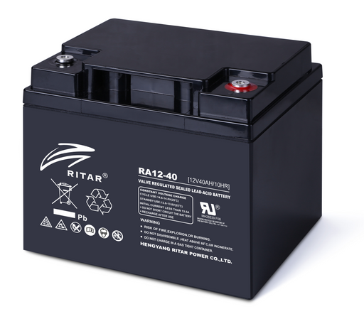 12 Volt 40Ah Sealed Lead Acid Battery