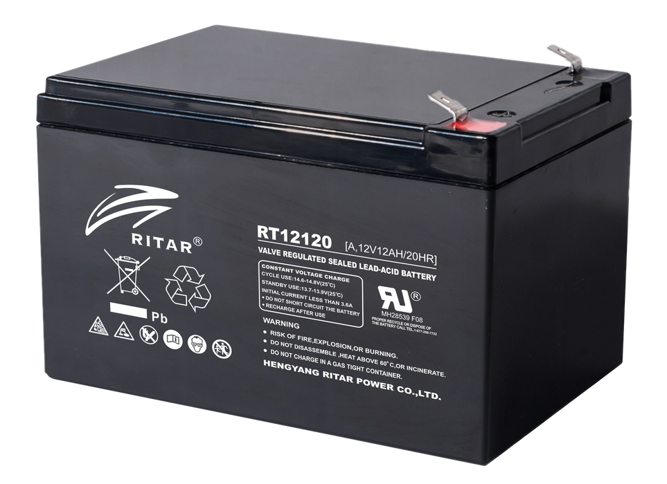 12 Volt 12Ah Sealed Lead Acid Battery