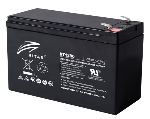 12 Volt 9Ah Sealed Lead Acid Battery