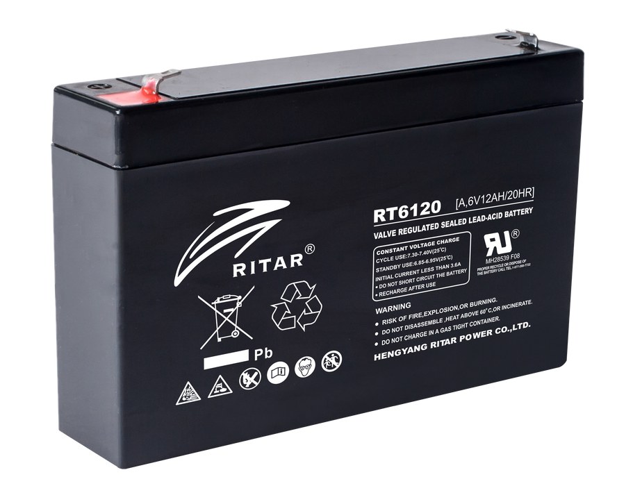 6 Volt 12Ah Sealed Lead Acid Battery