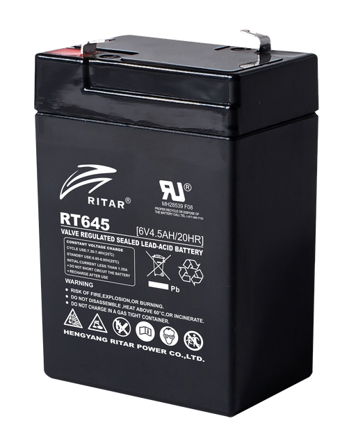 6 Volt 4.5Ah Sealed Lead Acid Battery