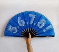 5,6,7,8! DANCE FAN (BLUE)