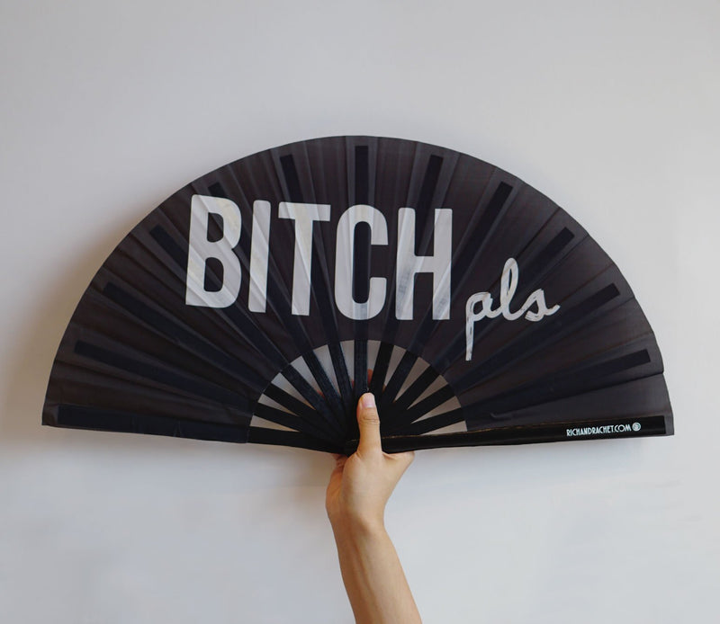 B****H PLS FAN (BLACK)