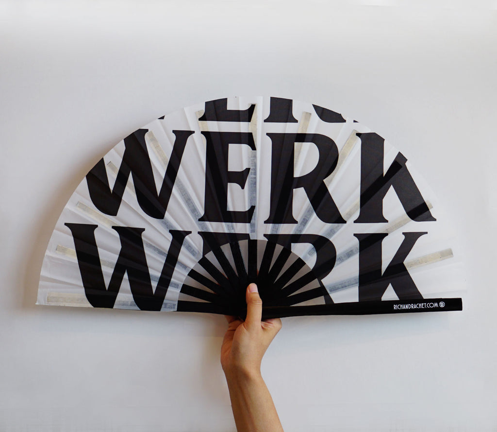 WERK FAN (WHITE)