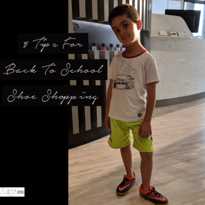 5 Tips for Back to School Shoe Shopping