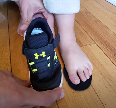 How to select footwear for toddlers