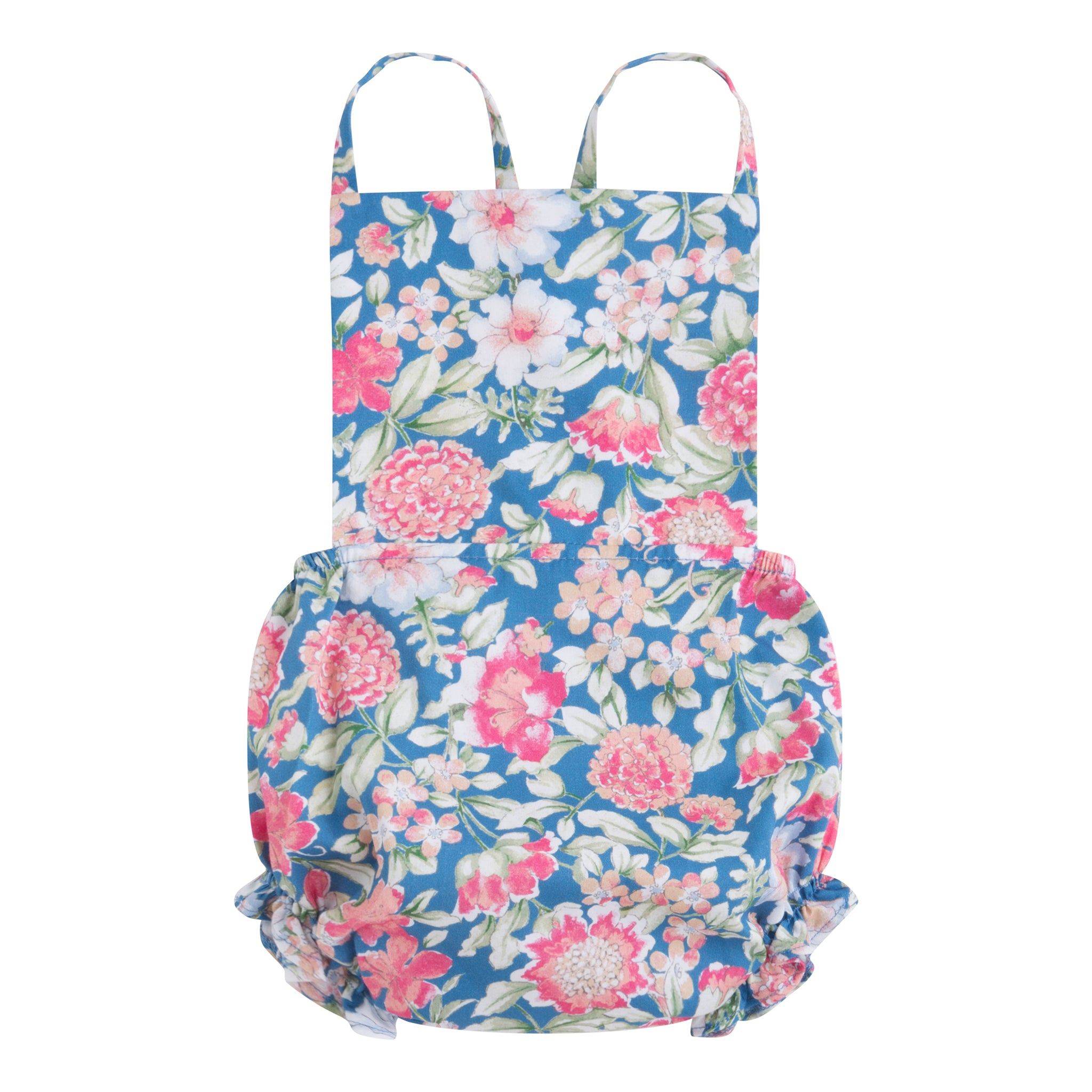 Flor Grecia Otto Playsuit baby girl floral print romper