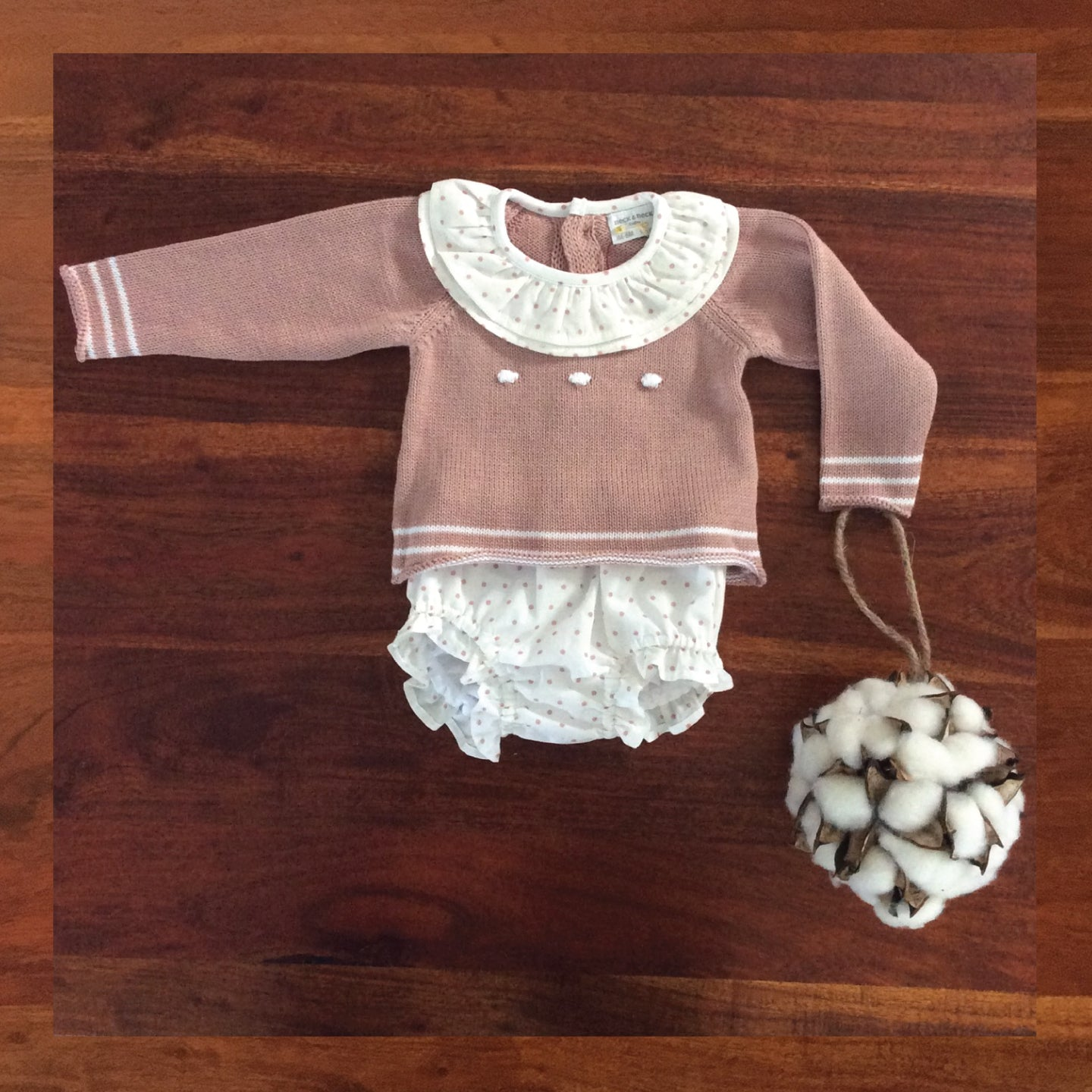 Sweater & Bloomer Set