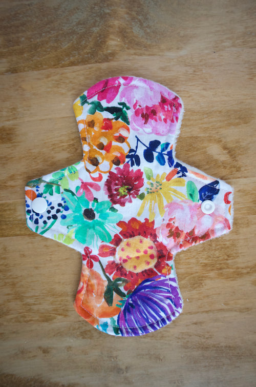 "Reusable Cloth Pads // 8"" Liner"