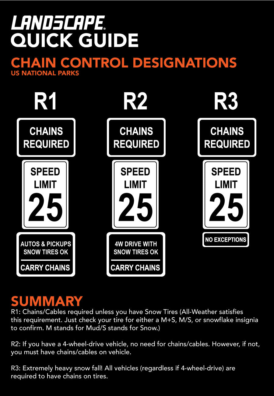 Do You Need Snow Chains in Winter by LAND5CAPE
