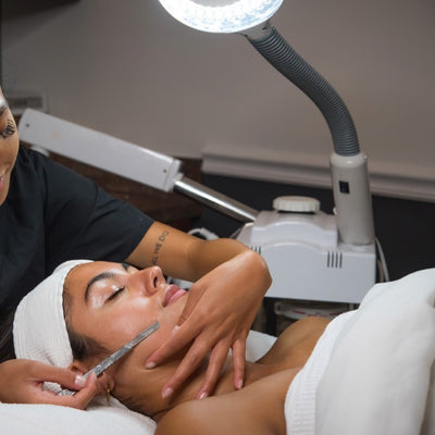Dermaplaning Facial | 12 Days of Quarantine