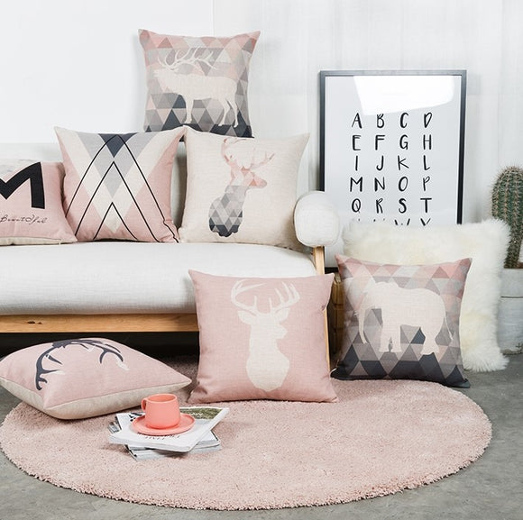 Chic Pink Pillows