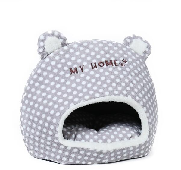 """My Home"" with Ears Cat Bed"