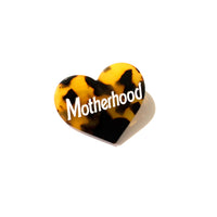 Motherhood Hair Clip, 2 inches in size, laser cut