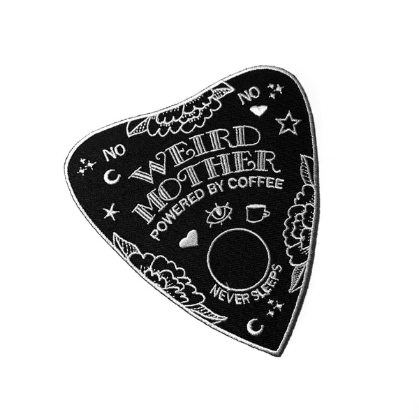 Ouija Planchette Weird Mother Patch 4 inches tall