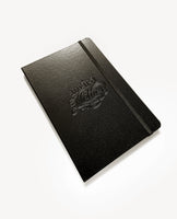 Weird Mother Embossed Vegan Leather Lined Journal, 8x5.5 inches with pocket