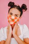 Strawberry Face Mask (pink) with 1 insert