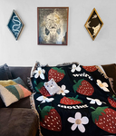 HUGE Weird Mother Woven Throw Blanket (limited) 50x60 inches