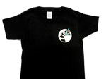 Sandworm Toddler Shirt in Black, 2-6T. Witching Hour Baby Collaboration.