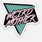 "Weird Mother Static clings Size: 3"" x 2.79"""
