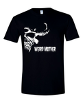 Mother Goat Head / Vintage band shirt on black