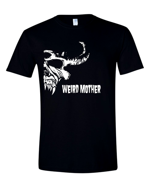 RESTOCKED Mother Goat Head / Vintage band shirt on black