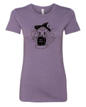 RIP Naps Purple Heather Women's Cut Shirt