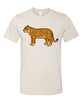 NEW Tiger Weird Mother Unisex Shirt in Off White