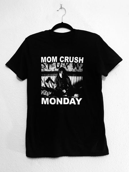 Mom Crush Monday Stranger Things Mashup Black shirt. S-XXXL.