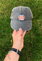 Tombstone & Bats Mineral Wash Hat