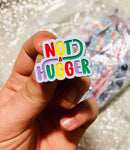 Not a Hugger, Hard Enamel Pin from Late Night Crew