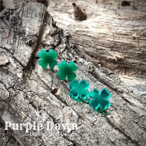 4 Leaf Clover Stud Earrings