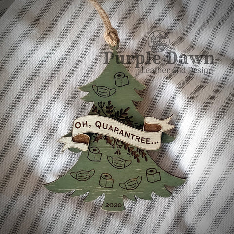 2020 Quarantree Ornament