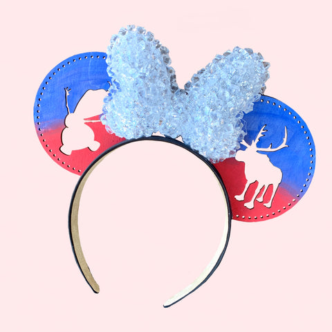 Olaf and Sven Ice Company Inspired Ears