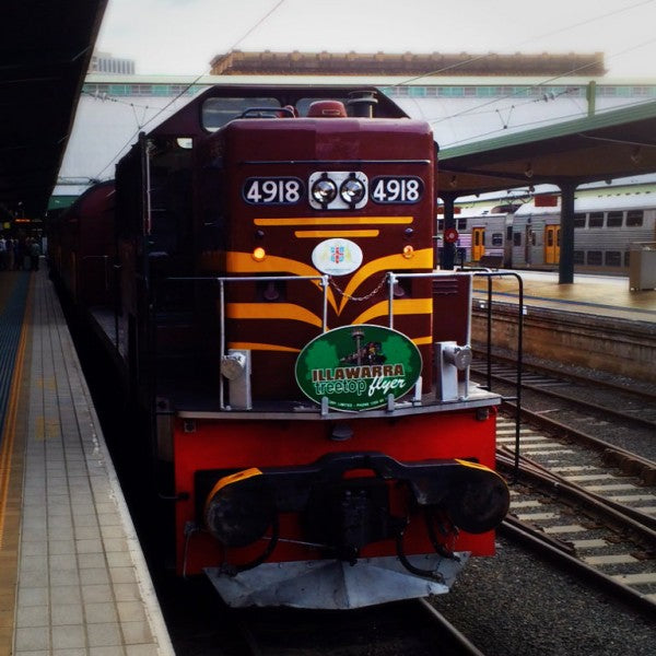 3801 Limited Heritage Train Comes To Wine Country Sunday 8 March 2015