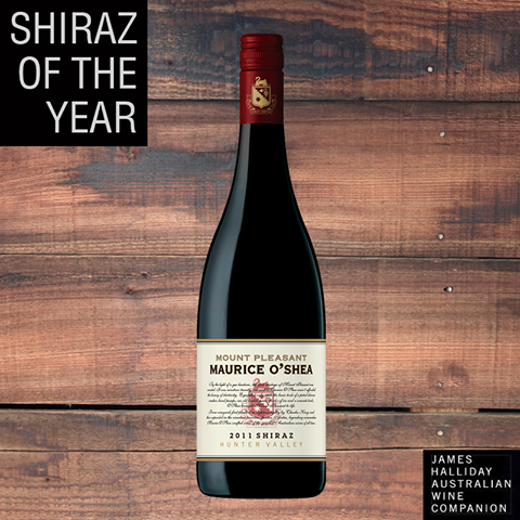 Halliday Names 2011 Maurice O'shea Best Shiraz In Australia