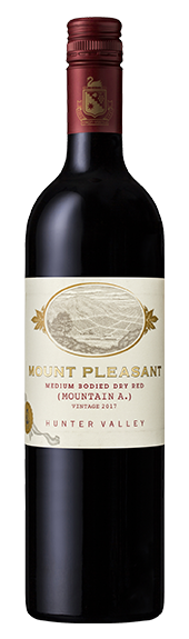 2017 Mountain A Medium Bodied Dry Red