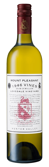 2018 1946 Vines Lovedale Semillon