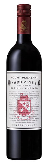 2017 1880 Vines Old Hill Shiraz