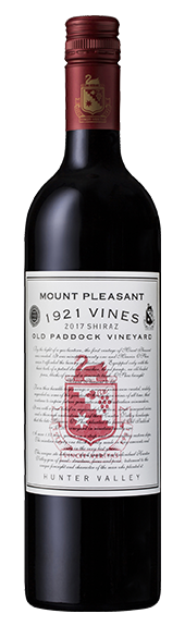 2017 1921 Vines Old Paddock Shiraz