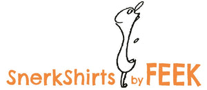 Snerkshirts by FEEK, t-shirt company, original artwork, line drawings,