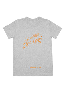 Youth Tee: Fight fiber WITH FIBER! - Athletic Heather