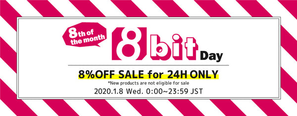 [8% OFF SALE for 24H ONLY] 8th of the month =