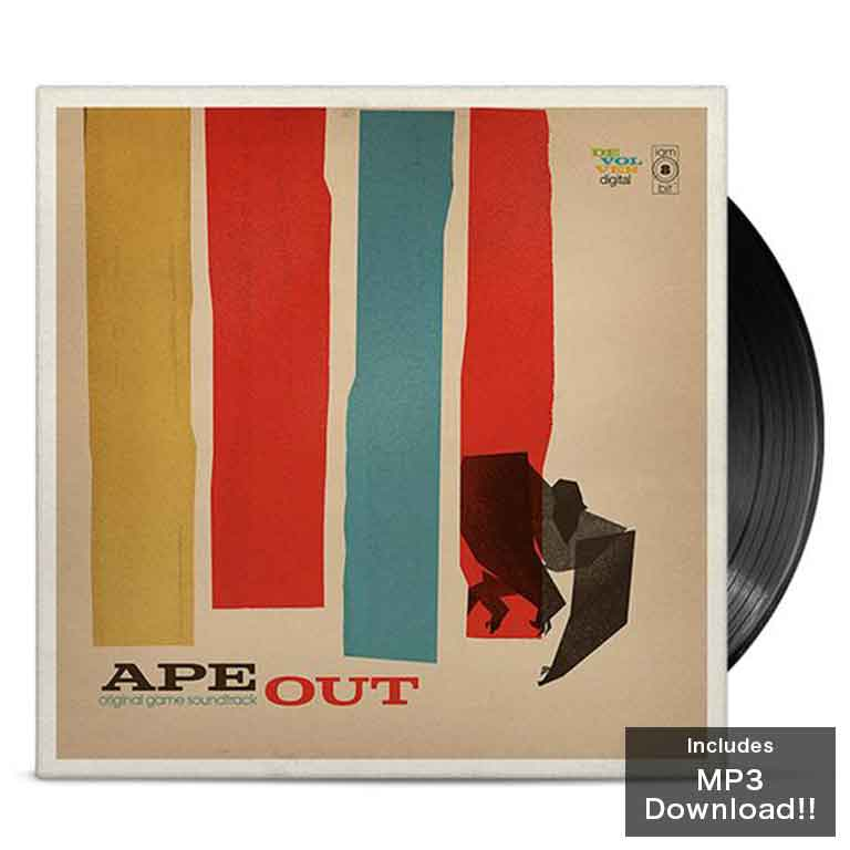 Ape Out Vinyl Soundtrack
