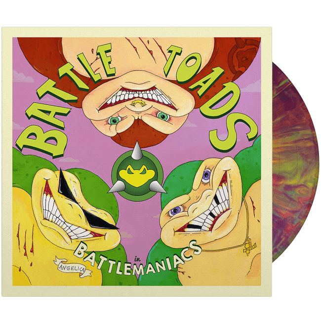 Battletoads in Battlemaniacs Vinyl Soundtrack - iam8bit (Asie et Océanie)
