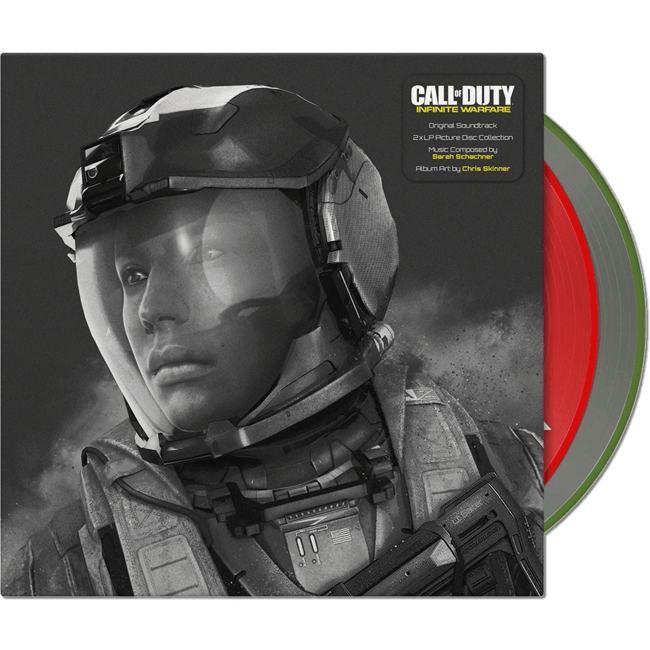 Call of Duty Infinite Warfare - Vinyl Soundtrack 2LP - iam8bit (Asie et Océanie)